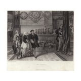 The Guests Giclee Print by Jan August Hendrik Leys