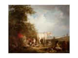 A Gypsy Scene Giclee Print by Edward Robert Smythe