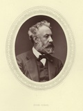 Jules Verne Photographic Print by Antoine-samuel Adam-salomon