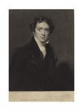 Michael Faraday Giclee Print by Henry William Pickersgill