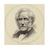 Portrait of Alessandro Manzoni Giclee Print