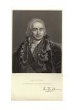 Portrait of Jean-Antoine Chaptal Giclee Print by Jean-jacques Francois Monanteuil