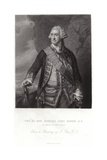 Portrait of Edward, Lord Hawke Giclee Print by Francis Cotes