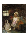 Playtime Friends Giclee Print by Edouard Veith