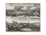 Dutch Perspective on the Naval Raid on the Thames Giclee Print by Willem Schellinks