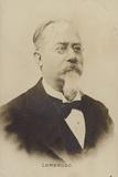 Cesare Lombroso (1835-1909), Italian Doctor and Criminologist Photographic Print