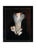 Lady Bennet, C.1509 Giclee Print by Hieronymus Custodis