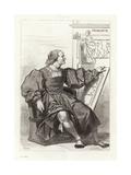 Donato Bramante, Italian Architect Giclee Print by Achille Deveria