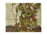 Soleil d'automne Impression giclée par Egon Schiele