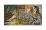 Odalisque, 1870 Giclee Print by Pierre Auguste Renoir