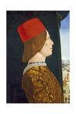 Giovanni II Bentivoglio, C. 1474- 77 Giclee Print by Ercole de Roberti