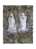 Spain. Barcelona. Basilica and Expiatory Church of the Holy Family. The Nativity. Singing Angels.… Giclee Print