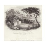 Residence of Tomb of George Washington in Mount Vernon Giclee Print by William Henry Brooke
