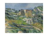 Houses in the Provence: the Riaux Valley Near L'Estaque, C.1833 Giclee Print by Paul Cézanne