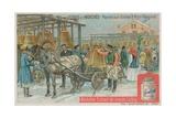 Market of Bells in Nizhny Novgorod Giclee Print