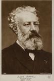 Jules Verne (1828-1905), French Novelist Papier Photo