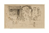 Archway, Brussels, 1887 Giclee Print by James Abbott McNeill Whistler
