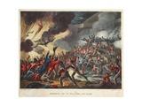 Storming of St Sebastian Aug 31, 1811, Aquatint by J.C. Stadler, Pub. by Tegg, Apr 1818 Giclee Print by William Heath
