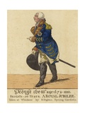 King George III Giclee Print by Richard Dighton