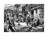 Troubles in Ireland - the Eviction of a Farmer, from 'Le Monde Illustré', 1881 Giclee Print by Henry Jones Thaddeus