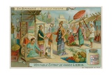 The Corner of a Market Giclee Print