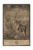 Aeneas, Sybil, Centaurs, Geryon, Briareus, Hydra, Chimaera Giclee Print by Francis Cleyn