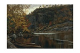 Holskaukilen Landscape Giclee Print by Olaf Isaachsen