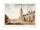 Old Soldiers Hospital, Kilmainham, Dublin, 1794 Giclee Print by James Malton
