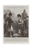 Surrender of the Rebels at Preston Giclee Print by William Marshall Craig