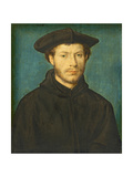 Portrait of a Man, C. 1536- 40 (Oil on Walnut) Giclee Print by Claude Corneille de Lyon