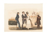 Marriage by a Justice of the Peace, 1830 Giclee Print by Auguste Hervieu