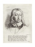 Portrait of John Milton Giclee Print by William Faithorne