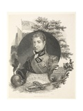 Lieut General Lord Hill Kb, Engr Brown, Pub. Kinnersley, 1815 Giclee Print by William Marshall Craig