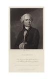 Portrait of Jean Le Rond D'Alembert Giclee Print by Maurice Quentin de La Tour