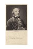Portrait of Georges-Louis Leclerc, Comte De Buffon Giclee Print by Francois-Hubert Drouais