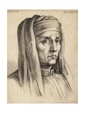 Giotto Di Bondone, Italian Painter and Architect Giclee Print by  Giotto di Bondone