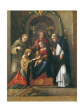 The Mystic Marriage of St. Catherine, 1510- 15 Giclee Print by  Correggio