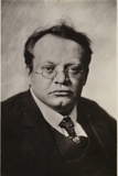 Portrait of Max Reger Photographic Print