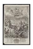 Poseidon Giclee Print by Francis Cleyn