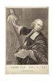 Simone Pignoni, Italian Painter Giclee Print by Giovanni Domenico Campiglia