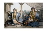 Pacha of Thessalia, Son of Veli and Mehemet, Younger Son Ali Cebelerr, Visir De Janina - Plate… Giclee Print by Louis Dupré