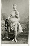 Méry Laurent on Stage, C.1888-89 Photographic Print by  Reutlinger Studio