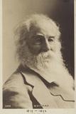 Walt Whitman (1819-1893), American Poet Photographic Print