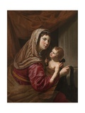 The Virgin and Child Giclee Print by Jan van Bijlert or Bylert