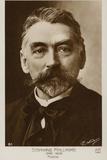 Stephane Mallarme (1842-1898), French Poet Photographic Print