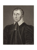 Richart Corbet, Bishop of Norwich Giclee Print by Cornelius Jansen