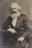 Karl Marx (1818-1883), German Philosopher, Economist, Historian and Political Theorist Photographic Print
