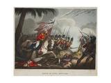 Battle of Assye 23 Sept 1803, Aquatint by J.C. Stadler, Pub. by Tegg, Apr 1818 Giclee Print by William Heath