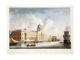 The Custom House, Dublin, 1792 Giclee Print by James Malton
