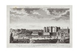 View of the Bastille St Anthony's Gate and Part of the Suburbs of Paris Giclee Print by Jacques Rigaud